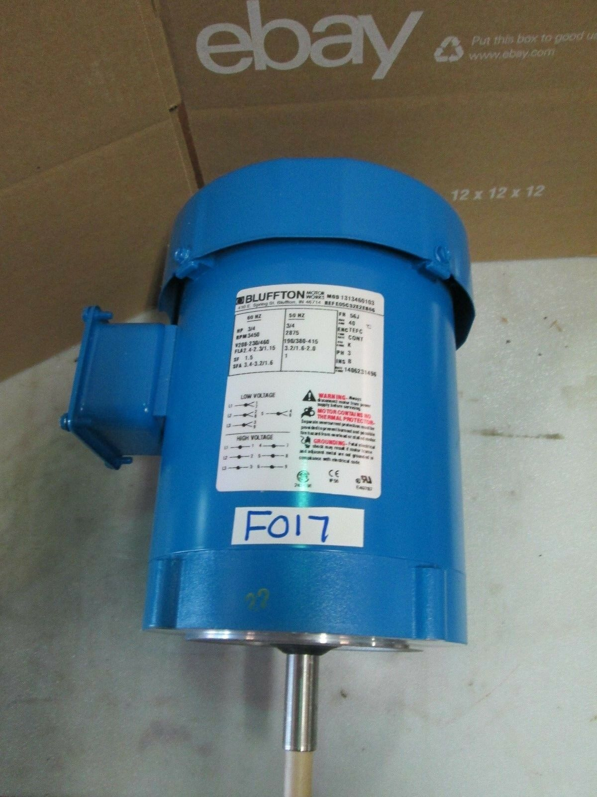 Electric Motors , Automation, Motors & Drives , Business & Industrial