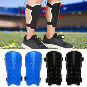 Adult Child Soccer Training Shin Pads Guards Football Protector Gear ... 4926bc990