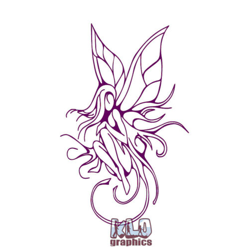 FAIRY GIRL Vinyl Decal Sticker Fantasy CUTE Mythical Forest Creatures Pixies