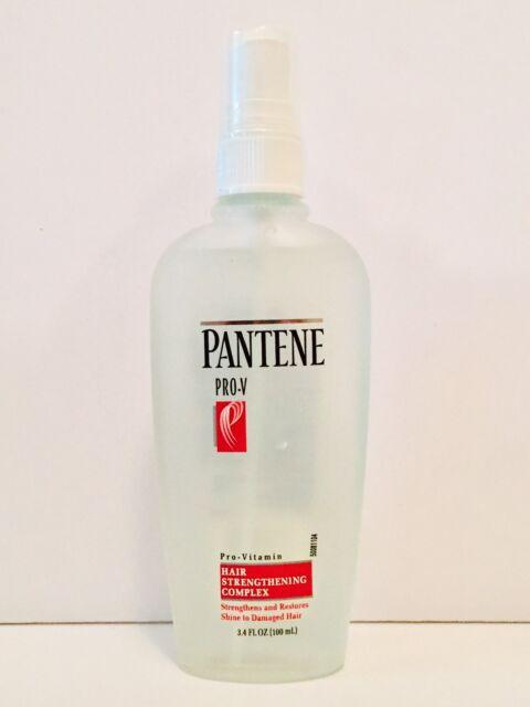 pantene pro v hair strengthening complex spray 3 4oz glass bottle ebay