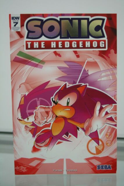 SDCC 2018 SONIC THE HEDGEHOG #7 EXCLUSIVE FOIL VARIANT COVER