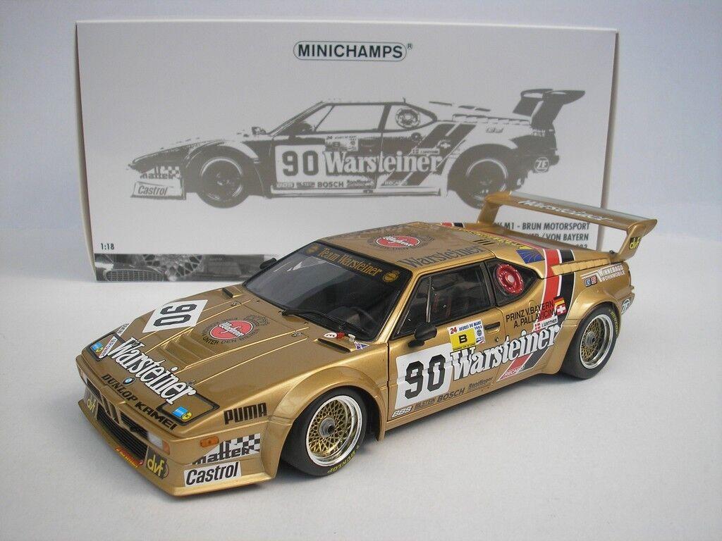 BMW M1 hrs Le Mans 1983 PALLAVICINI - Winther 1 18 Minichamps 180832990