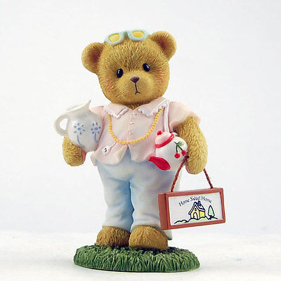Cherished Teddies~BEAR HOLDING TEAPOT~NEW 2013!!~FREE SHIP