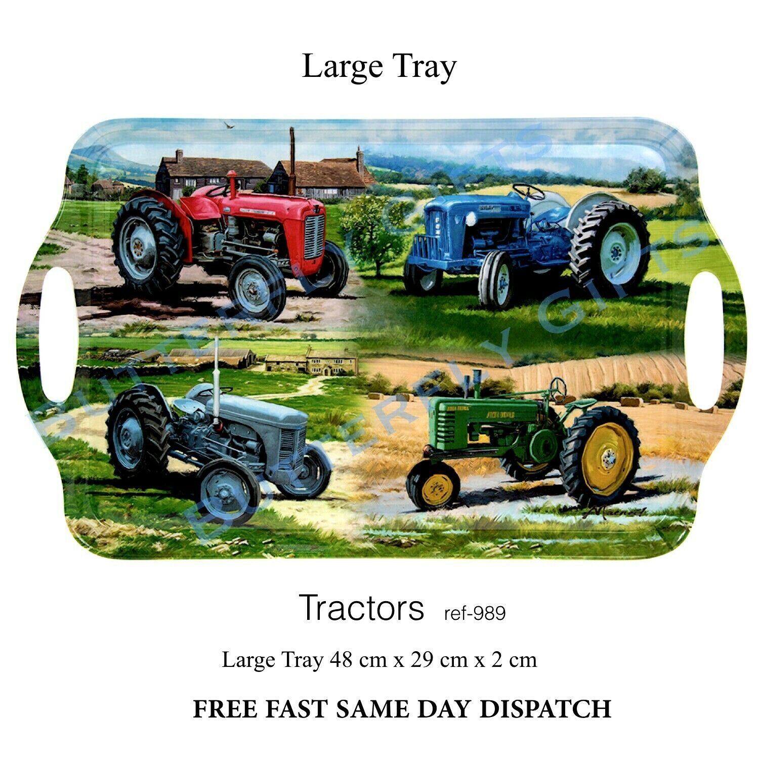 Tractors Large Tray 902