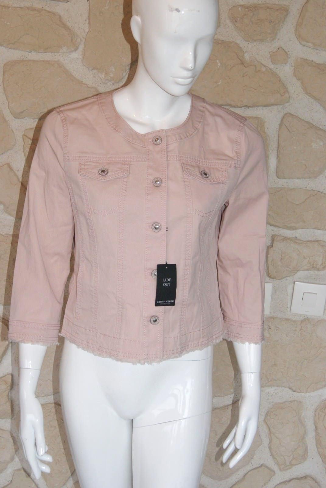 Veste rosadododo neuve  Talla 46 marque Gerry Weber étiquetée à  (ch)  costo real