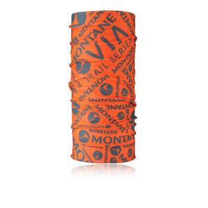 MONTANE via Chef Hommes femmes respirant extérieur orange foulard cou Gaiter  </span>