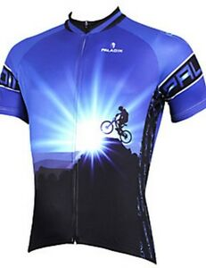 PALADIN Men s Short Sleeve Cycling Jersey Mountain Bike Bicycle ... ff22b04ec