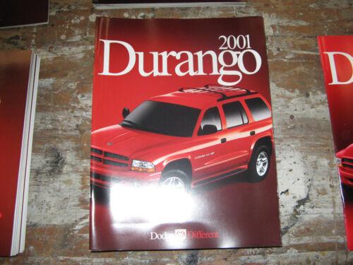 2001 Dodge Durango Original Sales Brochure Book Catalog RT R//T 5.9 SLT Sport