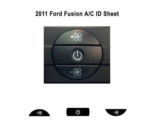 2011 Ford Fusion A//C ID Refinishing Product