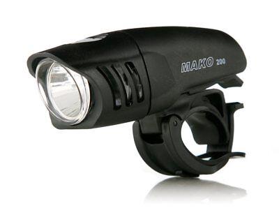 Niterider Mako 200 Lumen Bright Bike Head Light Headlight w//AA Batteries 5065