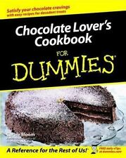 Chocolate Lover's Cookbook For Dummies-ExLibrary
