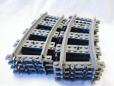 Lego Train City 8 RC Curved Tracks Mint 3677/7939/60052/60051/7895