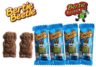 Bulk Lot 25 x Bertie Beetle Party Favour Lollies Sweets Choclates Candy Favors