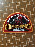 Deadpool Chimichanga Shack Iron-on Patch Ryan Reynolds Marvel X-men