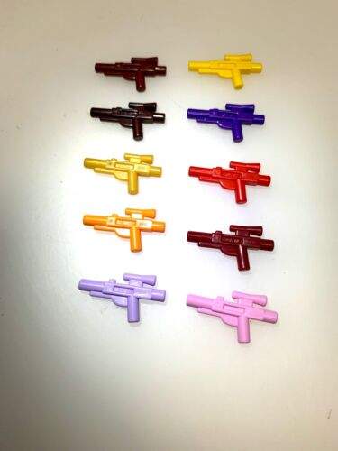 Lego Lot of 10 colored blasters very rare