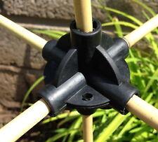 4 x 4 VIE Flexi costruire PALLINE Canna Connettori Frutta Cage Supporto di compensazione