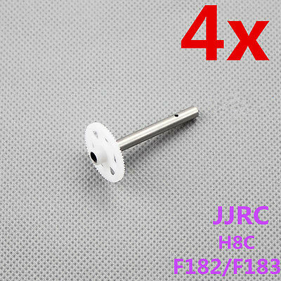 4x gear gearwheel for JJRC H8C Quadcopter F182 F183 copter motor blades parts