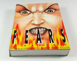 FEARS-Commodore-Amiga-1200-Spiel-Big-Box-OVP-VGC-CIB-Vintage-Collectible