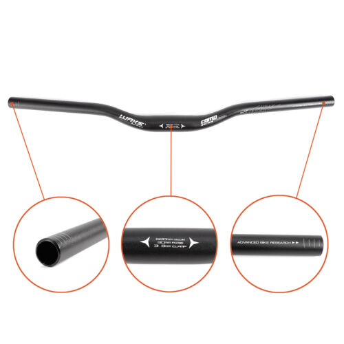 Fahrrad Lenker Aluminiumlegierung Lenker Riser Bar für Mountainbike 31.8MM*620mm