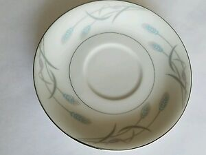 Vintage Valmont China Royal Wheat Saucer For Footed Cup Japan Made