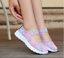 Handmade-Women-039-s-Sneakers-Breathable-Slip-On-Walking-Shoes-Woven-Stretch-Mesh thumbnail 8