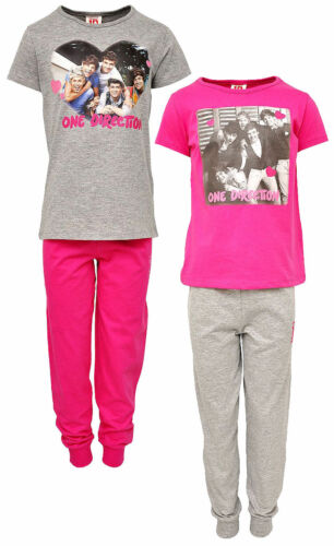 Girls Soft Touch ONE DIRECTION 1D Pyjamas 7 to 14 yrs 2 colour to choose from