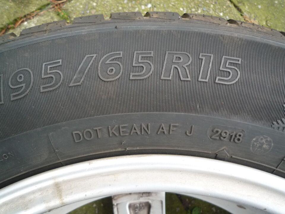 """Alufælge, 15"""", 195 / 65 / R15"""