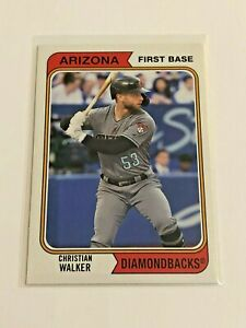 2020-Topps-Archives-Baseball-1974-Base-Christian-Walker-Arizona-Diamondbacks