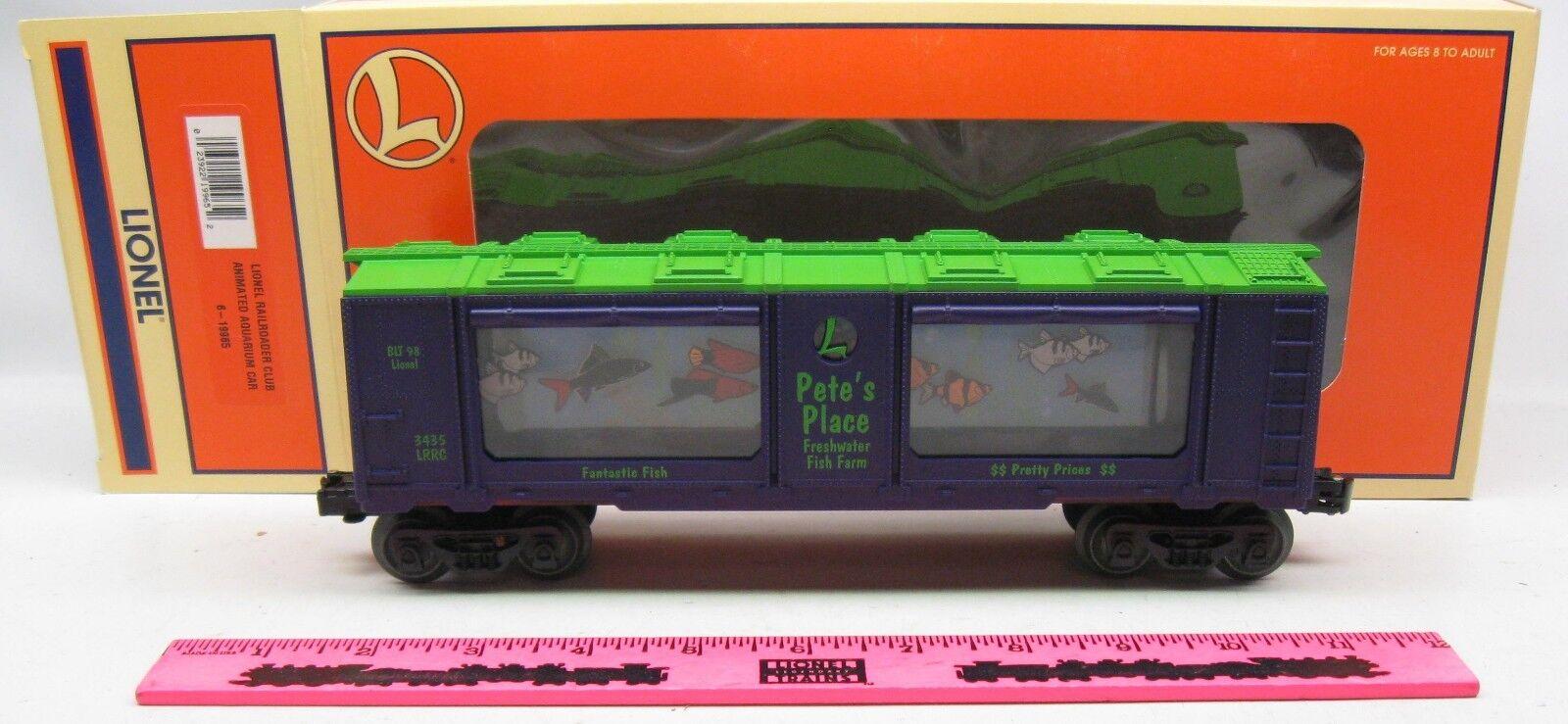 Lionel  6-19965 Lionel Railroader Club Animated Aquarium car