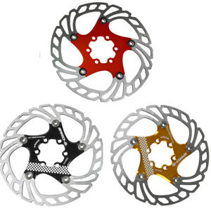 Floating Disc Brake Rotor Mountain Road Bicycle Disc Brakes 6 Bolt Mounting New