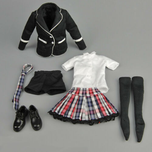 "1//6 FEMMINA School Uniform Vestito per 12/"" kumik PHICEN Hot toys Action Figure"