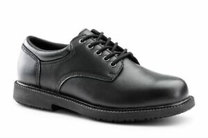 Zapatos-Para-Crews-Keuka-Para-hombres-Zapatos-Trabajo-Barton-Cuero-Antideslizante