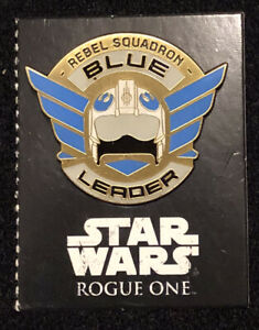 Disney Pin Star Wars Rogue One Rebel Squadron Leaders Blue Only Ebay