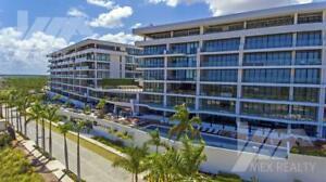 Departamento en Venta, ALLURE Ocean Front Luxury Condos, Puerto Cancún, 3 y 4 Recamaras, Clave SI...