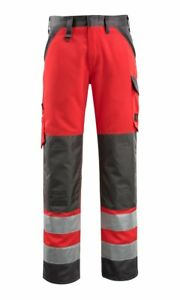Soigneux Mascot Maitland 44 Waist X 35.5 Leg Measured High Vis Tall Fit Work Trousers New