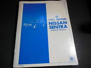 1983 Nissan Sentra Wiring Diagram | Wiring Diagram on