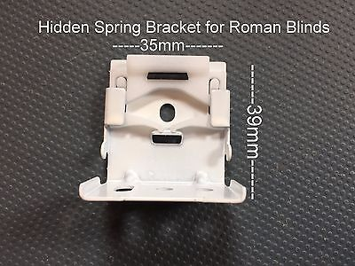Professional Roman Blind Hidden Brackets Spares Parts Ebay