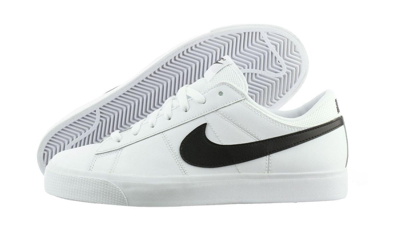 NIke Match Supreme LTR Mens Casual Shoes White/Black/White 631656 101 Comfortable