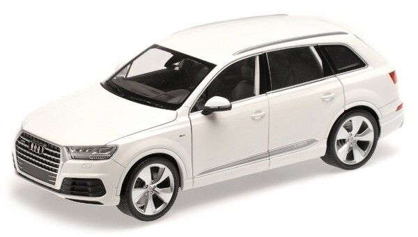 Audi Q7 (Weiß) 2015  | Erste Kunden Eine Vollständige Palette Von Spezifikationen