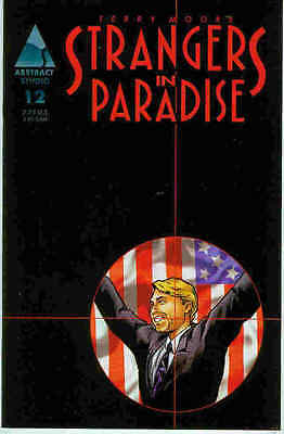 Radient Strangers In Paradise (vol. 3) # 12 (terry Moore) (usa, 1998) Schrecklicher Wert