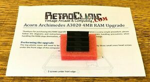 ACORN-ARCHIMEDES-A3020-4MB-RAM-UPGRADE-KIT-WITH-GUIDE-M5148000-ZIP-CHIPS-x4