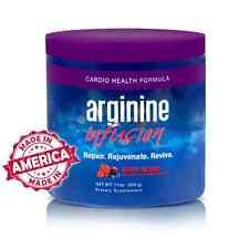 Arginine Infusion 1 Jar Natural Formula for Cardio Health (5,000mg L-arginine