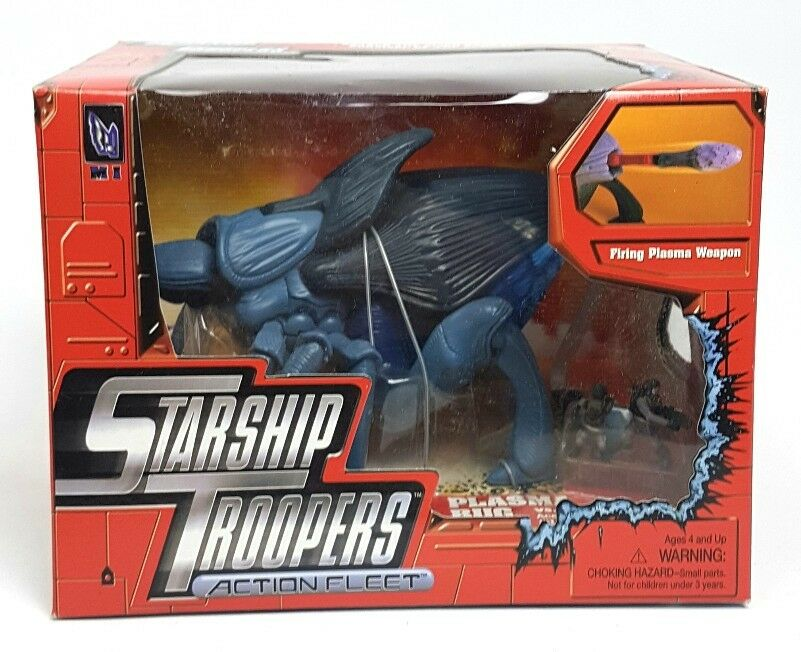 Vintage   PLASMA BUG STARSHIP TROOPERS Figure   MISB Action Fleet Sealed 90s