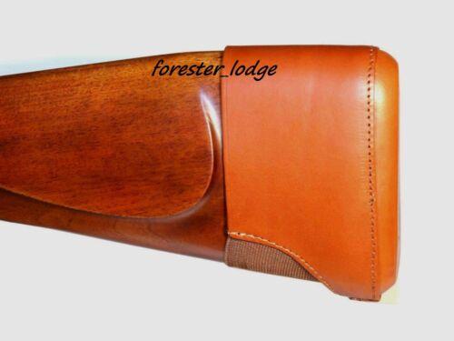 fucile TIRO In Pelle Slip On Recoil Pad STOCK di estensione CACCIA fucile