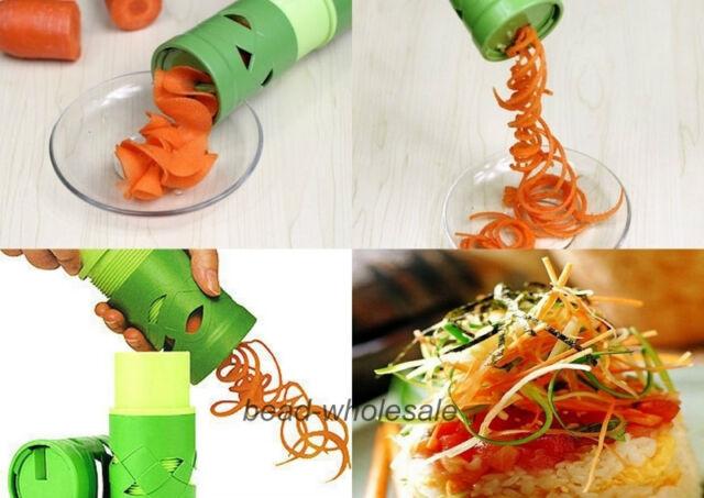 HQ.Vegetable Fruit Twister Cutter Slicer Processing Device Kitchen Utensil Tool