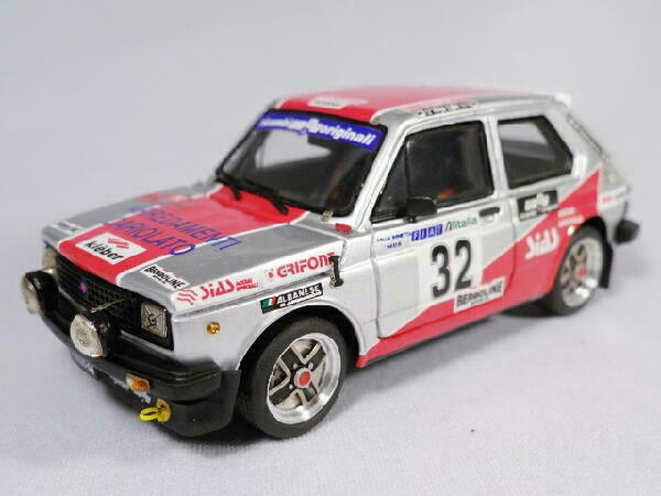 Kit Fiat 127 sponsor SIAS Acciai  32 Rally Elba 1978 - Arena Models kit 1 43