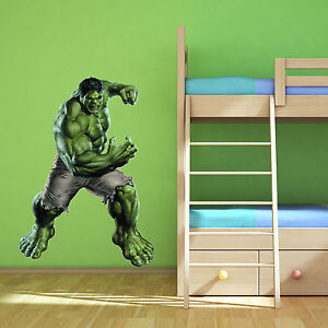 Merveilleux Image Is Loading INCREDIBLE HULK Avengers Multi Colour Wall Art Sticker