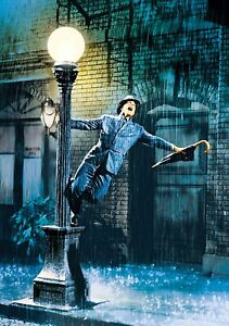 SINGIN-039-IN-THE-RAIN-Movie-PHOTO-Print-POSTER-Textless-Film-Art-Gene-Kelly-001