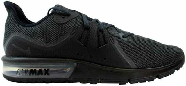 factory authentic 0b609 35915 Nike Air Max Sequent 3 Men s Running Shoes 921694 010 Black Anthracite NIB