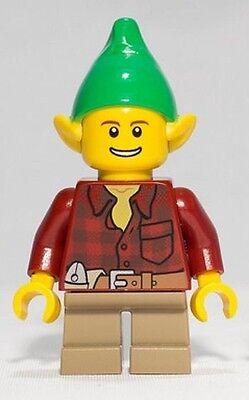 LEGO Female Elf Elve Minifigure from Limited Edition 40106 Santa/'s Workshop